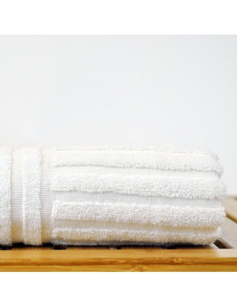 Hotel Collection Hand Towels Finest Luxury Sets - White - Set of 6, Hand Towels
