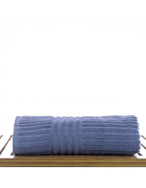 Hotel Collection Turkish Luxury Towels - Wedgwood Blue - Set of 4, Bath Towels