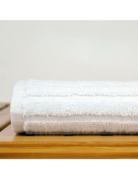 Microfiber Washcloth Towel Premium Quality - White - Set of 12, Bath Towels