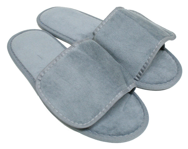 Open Toe Colourful Cheap Stylish Velcro Spa Non Skid Slippers, Slippers