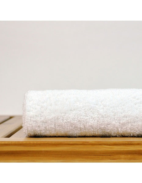 Silky Smooth & Softest Turkish Cotton Hotyel/Spa Washclothes - White - Set of 12, Bath Towels
