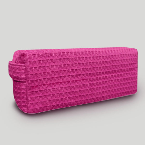 Small Highly Durable Waffle Weave Makeup Bag For Women Wholesale