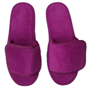 Stylish Open Toe Velcro Spa Slippers Wholesale Bulk, Slippers