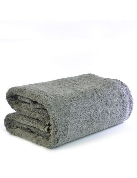 Terry Cloth Super Plush Oversize Bath Sheet - Gray, Bath Towels