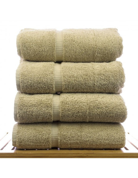 Thick & Plush Bath Towel Collection - Drift Wood - Set of 4, Bath Towels