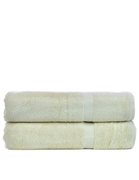 Turkish Cotton Bath Sheets Sale in Bulk - Beige - Set of 2, Bath Towels
