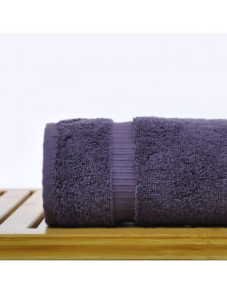 Turkish Hand Towels for Bathroom Sale in Bulk - Plum - Set of 6, Hand Towels