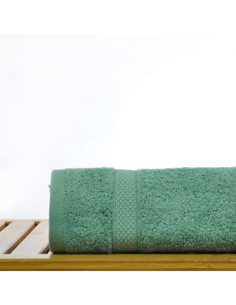 Turkish Hand Towels in Resort Quality - Green - Set of 6, Hand Towels