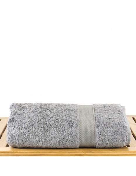 Ultimate Performance Oversized Luxury Bamboo Bath Towel - Gray - Set of 4, Bath Towels