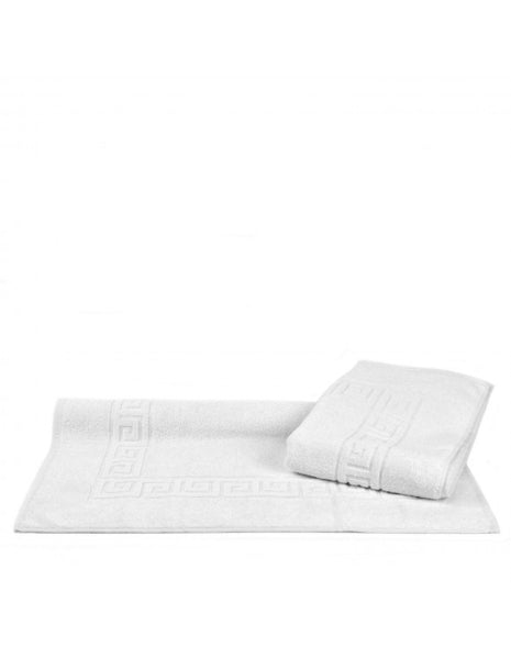 Ultimate Performance Resort Cotton Bath Mats - White - Set of 2, Bath Mats