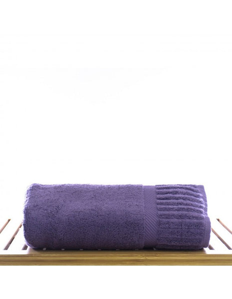 Ultimate Performance Resort Cotton Bath Towel - Plum - Set of 4, Bath Towels