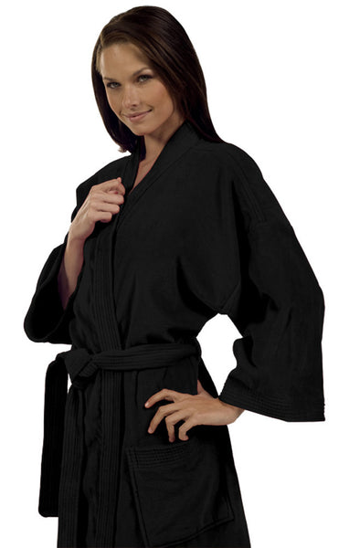 black terry cloth robe 100 natural cotton terry cloth robes - Terry Cloth Robe