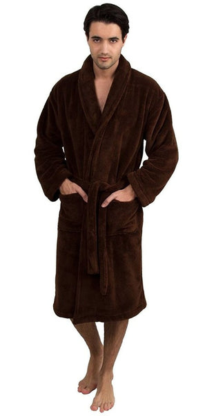 Luscious & Snug Luxury Bathrobe in Bulk - Chocolate, Spa/Hotel Robes