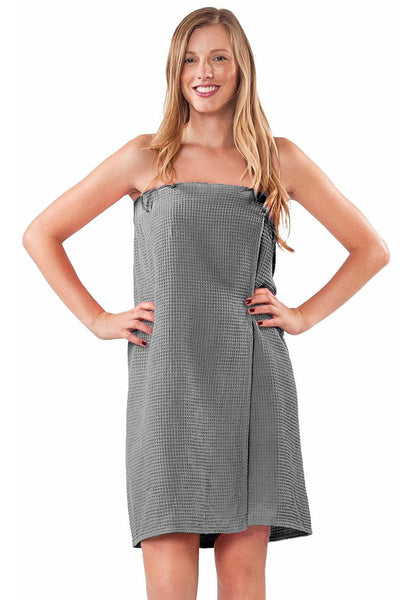 Personalized Sorority Body Wrap - Gray, Bath Wraps