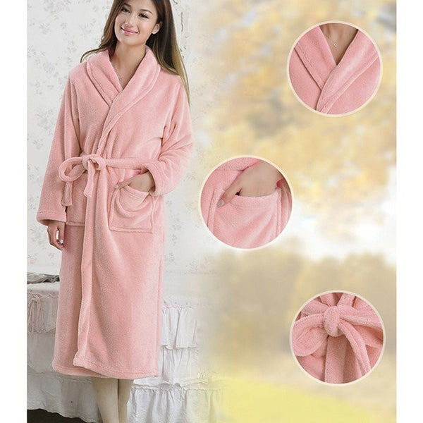 Hotel Quality Personalized Luxury Bathrobes Wholesale - Pink, Spa/Hotel Robes