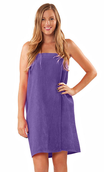 Women's After Bath Towel Body Wrap - Purple, Bath Wraps