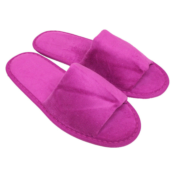 4c64f9c3e ... Women s Open Toe Spa Slippers for Bridal Party