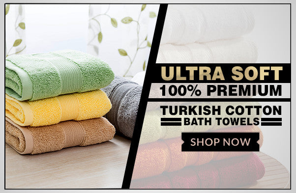 100% Cotton Turkish Bath Towels
