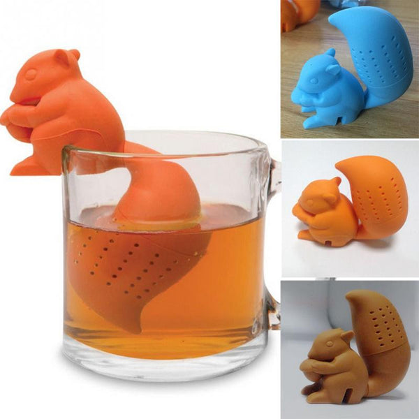 Tea Strainer - Squirrel