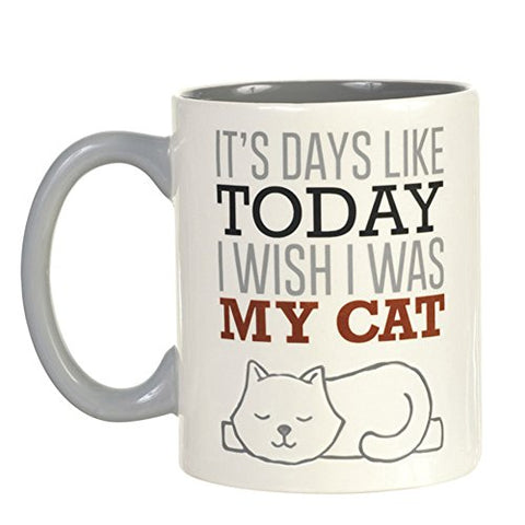 Wish I Was My Cat Mug
