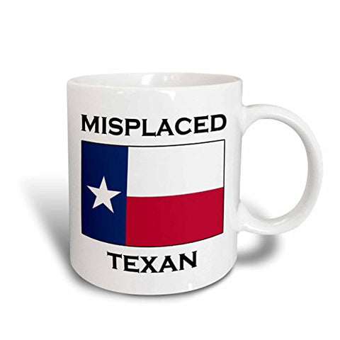 Misplaced Texan Mug