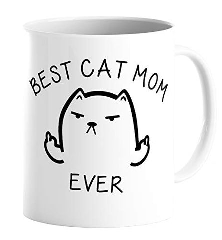 Best Cat Mom Mug