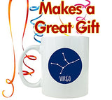 Virgo Zodiac Sign - Ceramic Coffee Mug