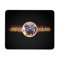 FIREMAN Mouse Pad - (Black)