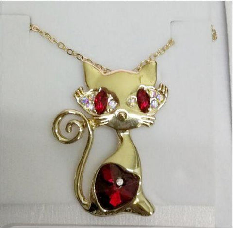 Buy gold cat pendant necklace at fire sale for only 2394 usd multi toolmulti toolfire sale aloadofball Gallery