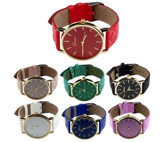 faux quartz detail vogue luxury watches women geneva new gold dress bracelet product analog numerals roman leather