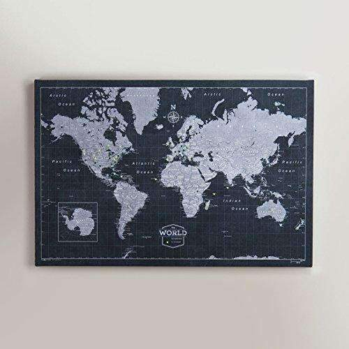 Cheap world travel map pin board modern slate world travel map pin board modern slate sale gumiabroncs Image collections