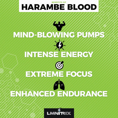Harambe Blood® - Intense Preworkout Supplement