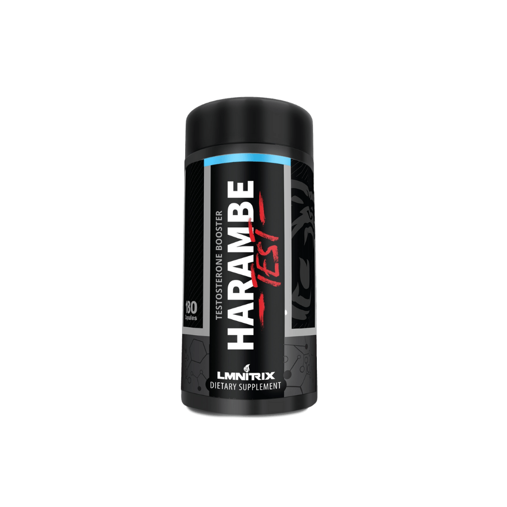 Harambe Test | Natural Testosterone Booster - 180ct