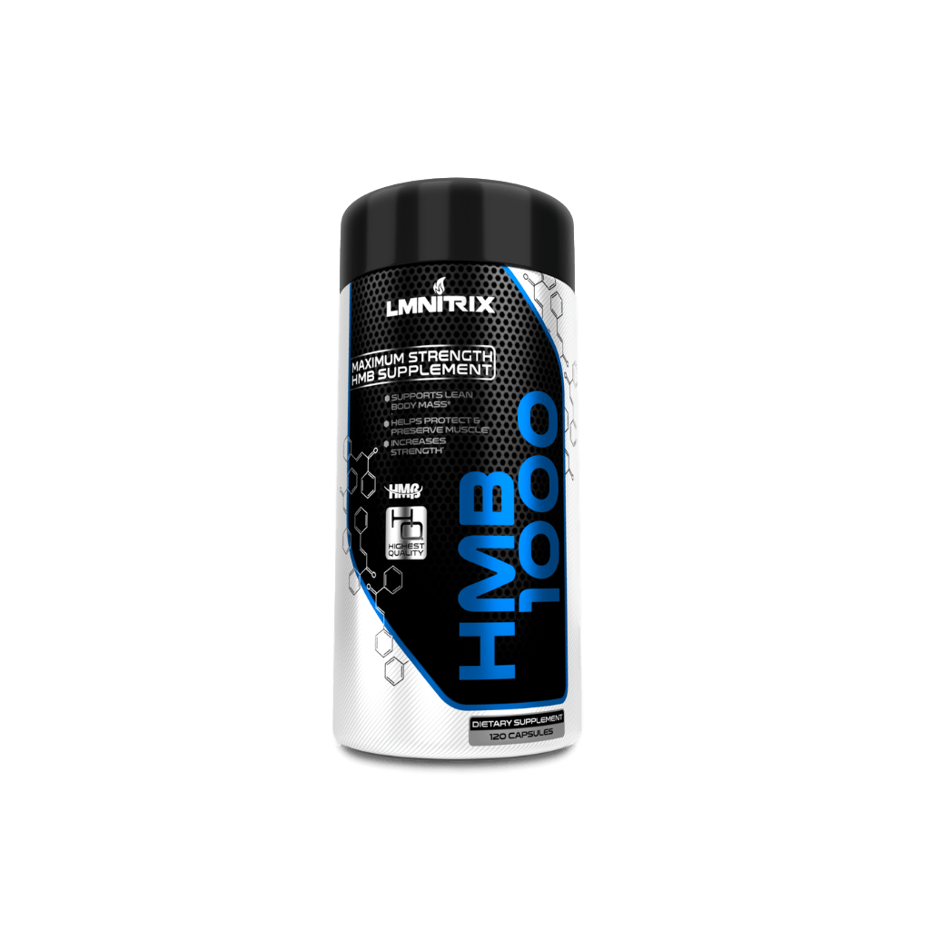 HMB 1000 |  Boost Strength, Recovery & Reduce Muscle Loss ✮ 120 ct