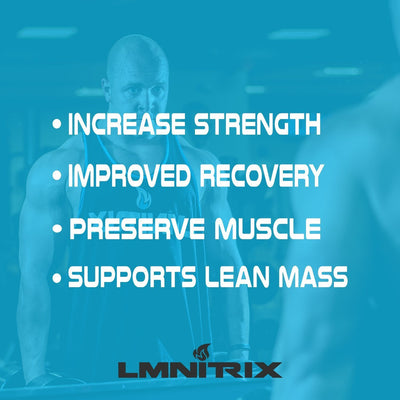 LMNITRIX HMB 1000 ✮  Boost Strength, Recovery & Reduce Muscle Loss ✮ 120 ct