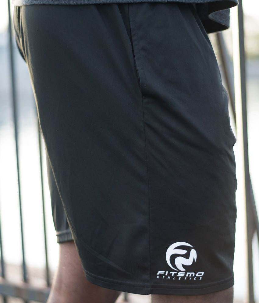 Athletic Training Shorts - Black