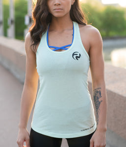 Emblem Scoop Tank - Mint