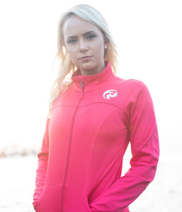 Women's Training Jacket - Coral