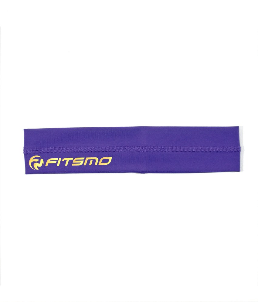 Sport Headband - Purple/Tiffany