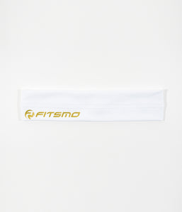 Sport Headband - White/Gold