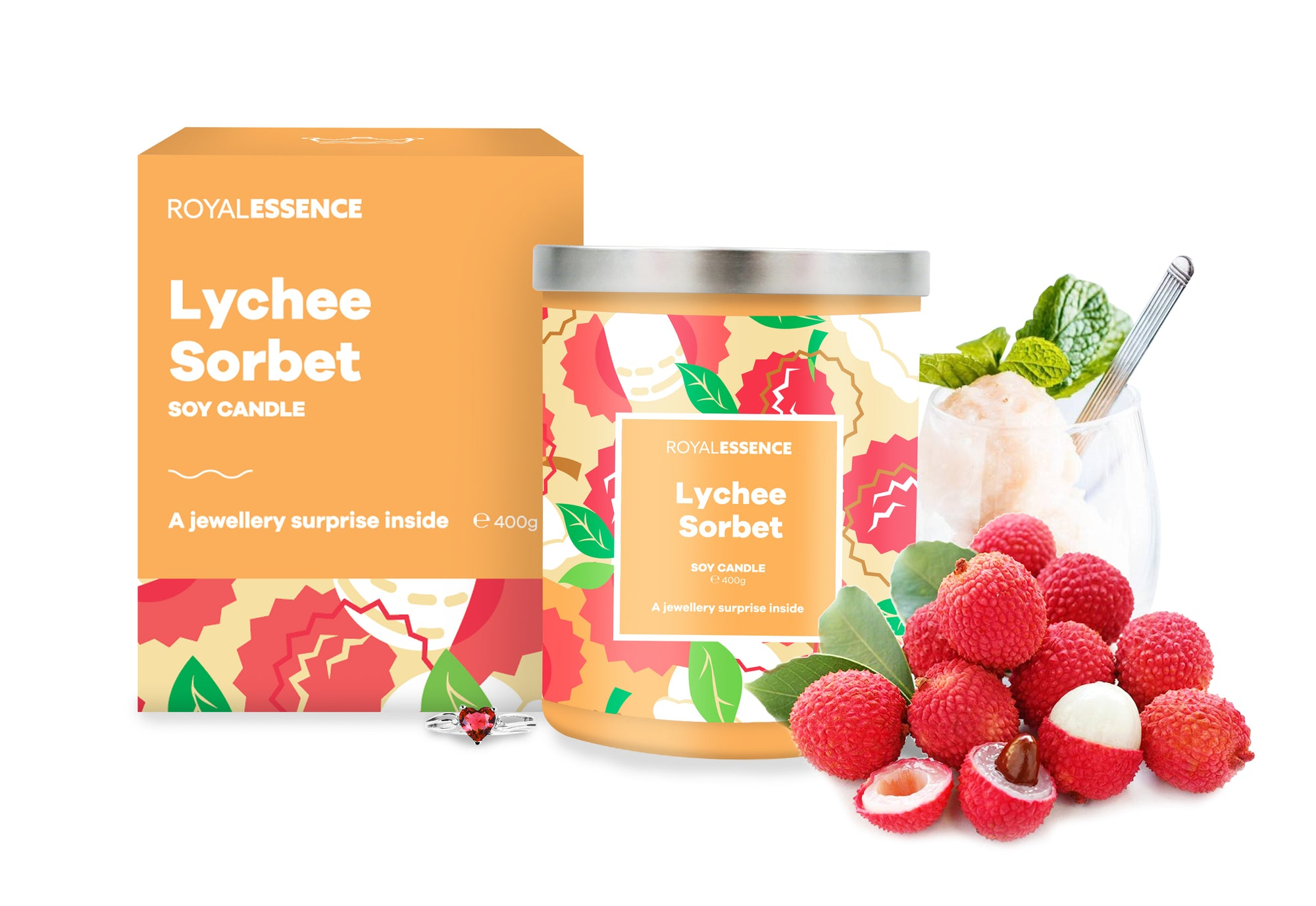 Lychee Sorbet (Candle)
