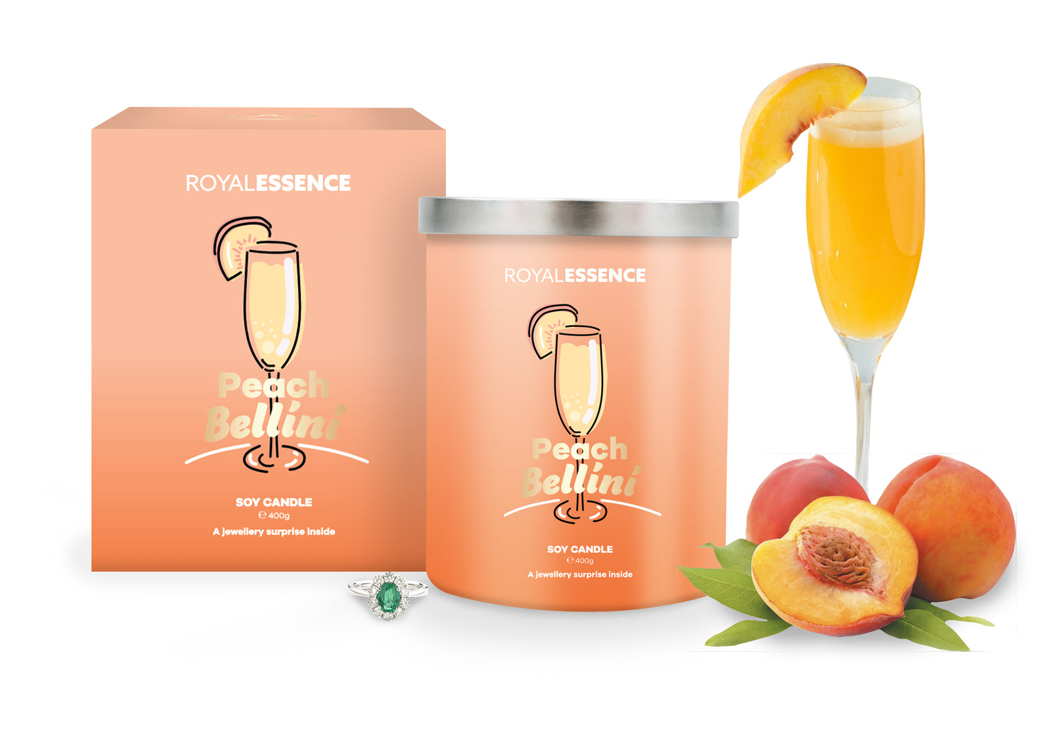 Peach Bellini (Candle)