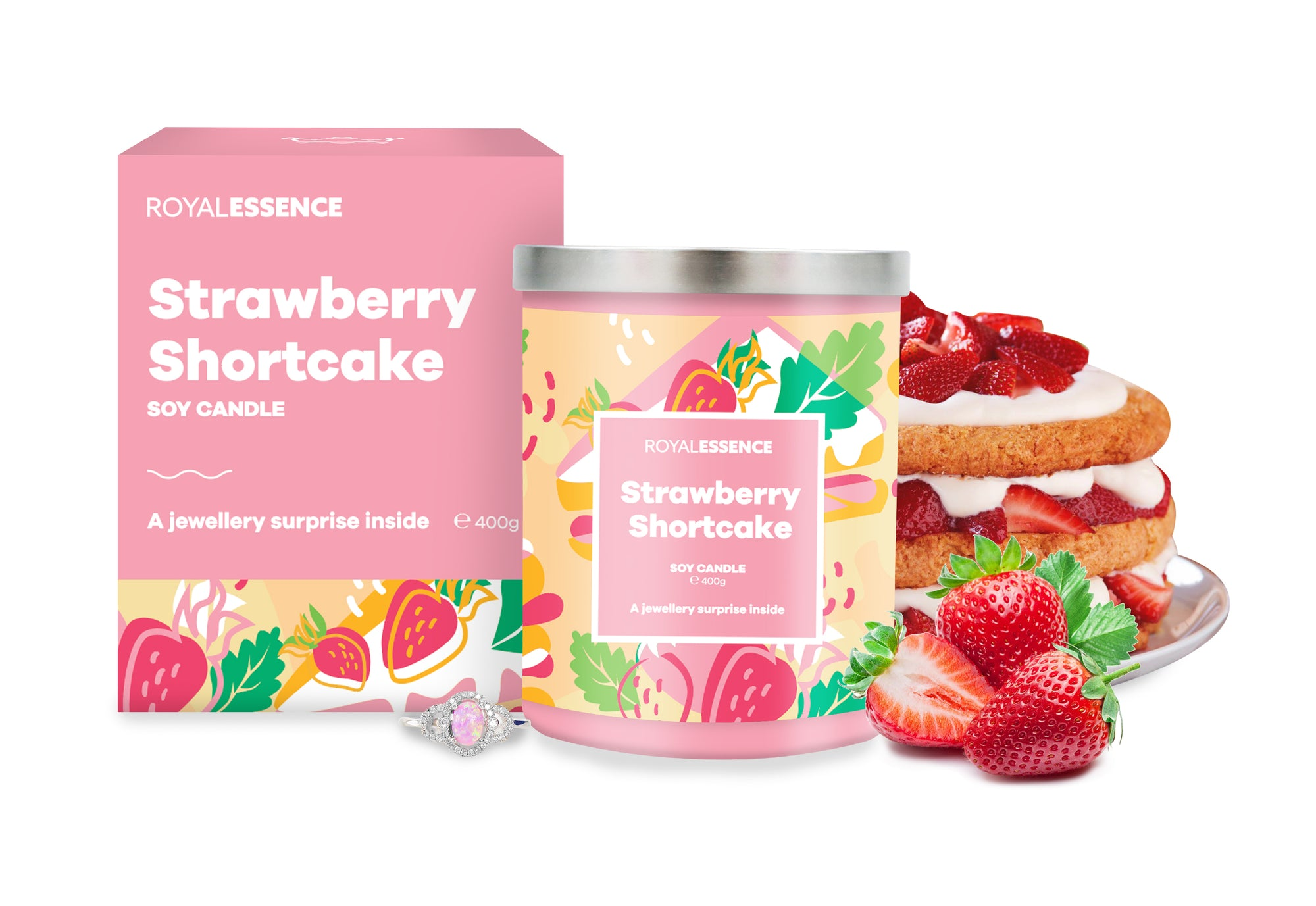 Strawberry Shortcake (Candle)