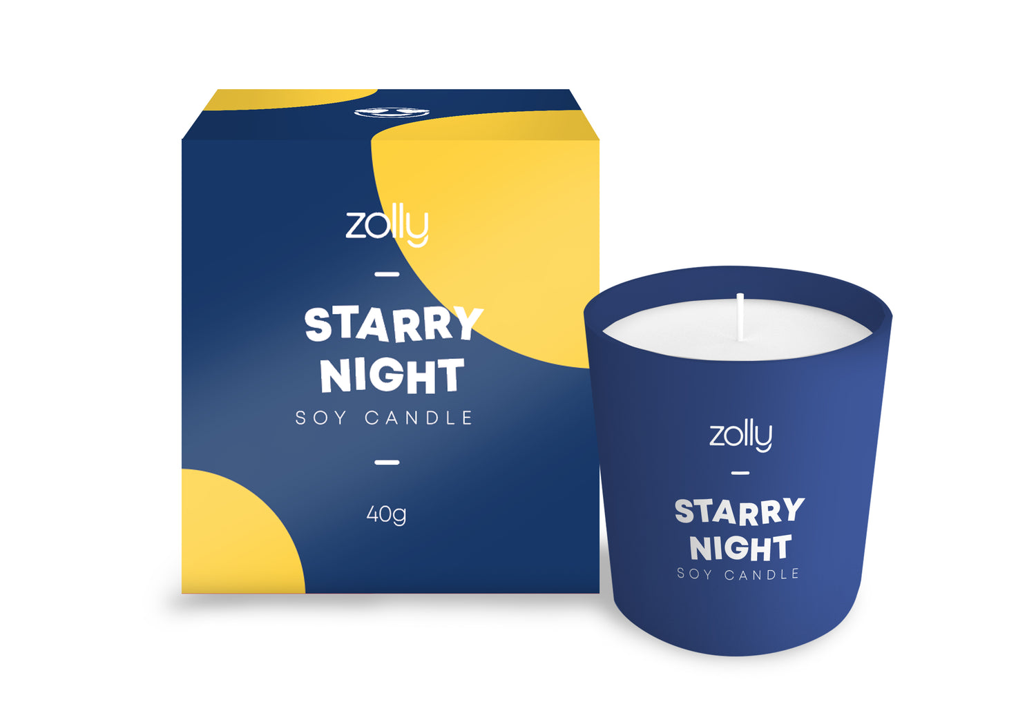 Starry Night Mini Candle 40g