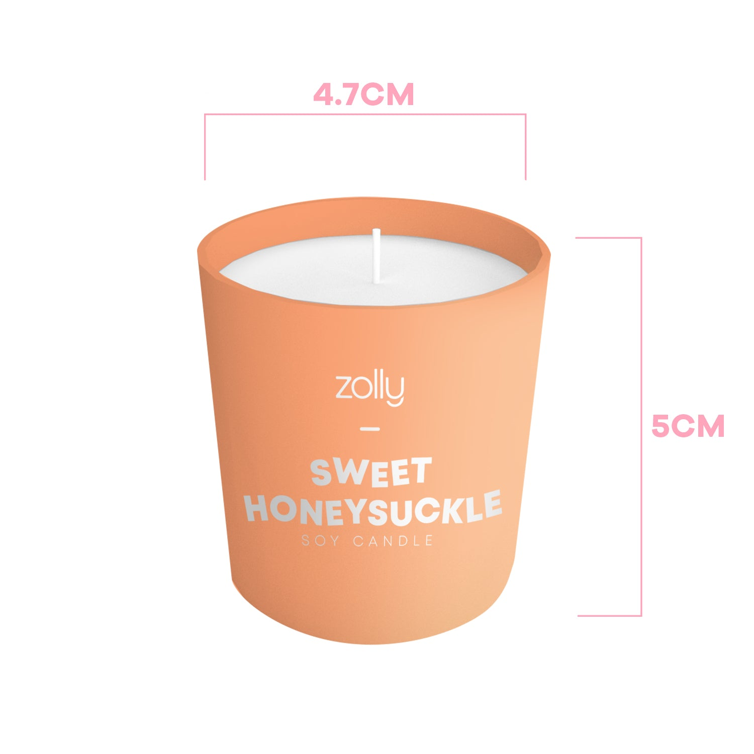 Sweet Honeysuckle Mini Candle 40g