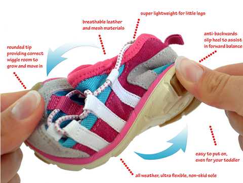 Toddler and Kids Flexible Shoes