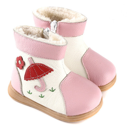 Raindrops in Blossom - Toddler & Children Shoes - Ankle-Biters - 1