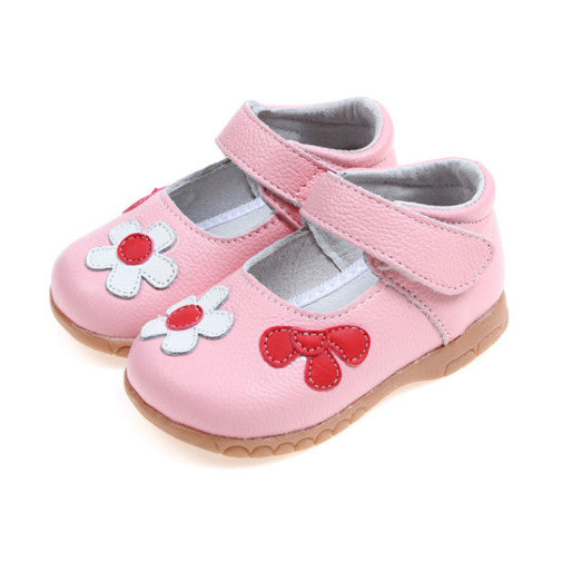 Flower Power in Pink - Toddler & Children Shoes - Ankle-Biters - 1