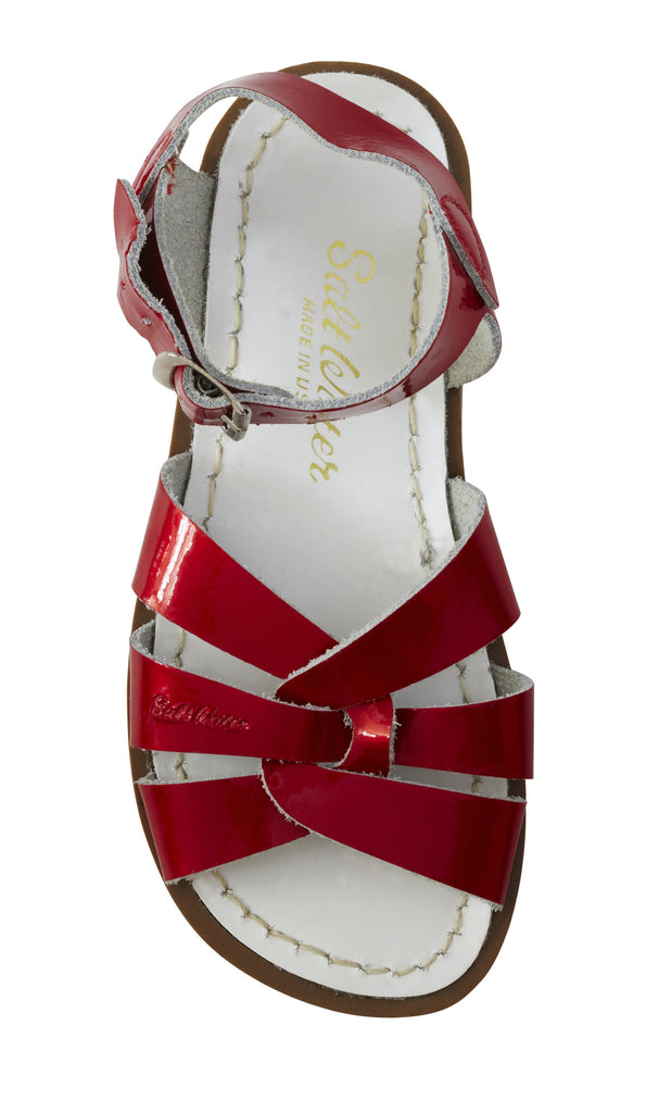 Saltwater Original Candy Red - Saltwater Sandal - Ankle-Biters - 1