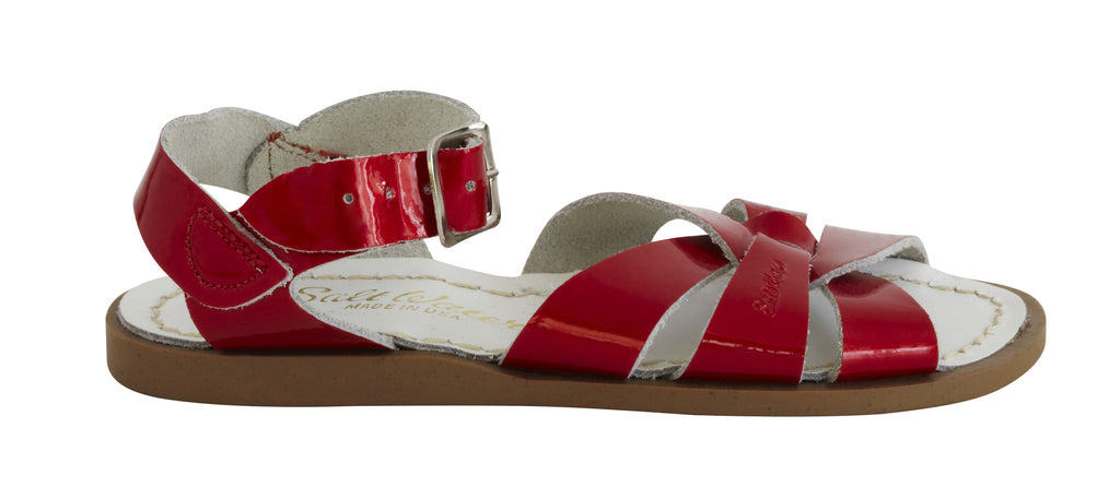 Saltwater Original Candy Red - Saltwater Sandal - Ankle-Biters - 2